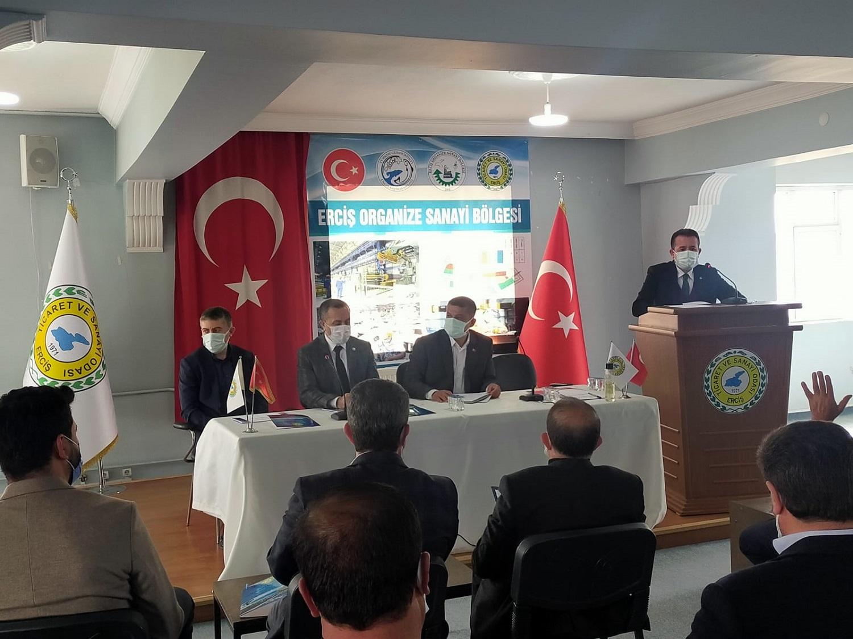 Erciş Organize Sanayi Bölgesi Yatırımcıları İle Bir Araya Gelindi